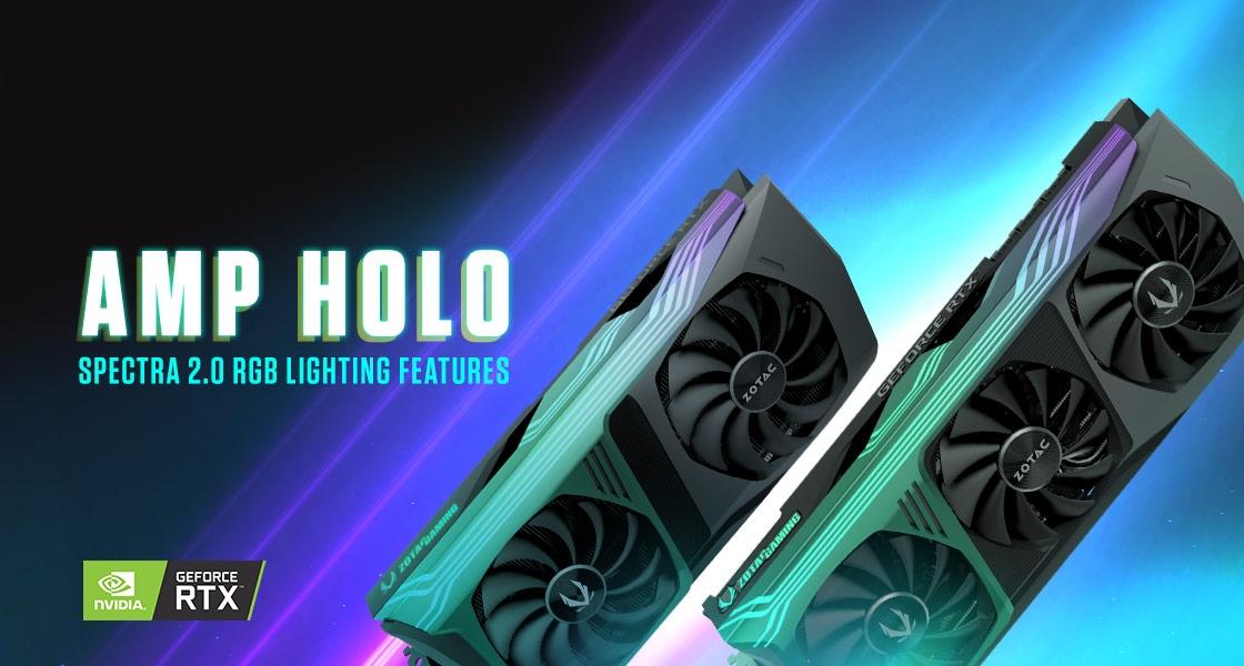 AMP HOLO 燈效介紹!SPECTRA 2.0 RGB 功能一覽