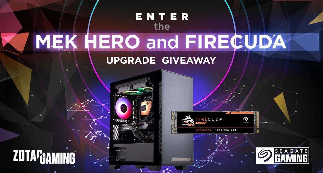 The MEK HERO and FireCuda Upgrade Giveaway