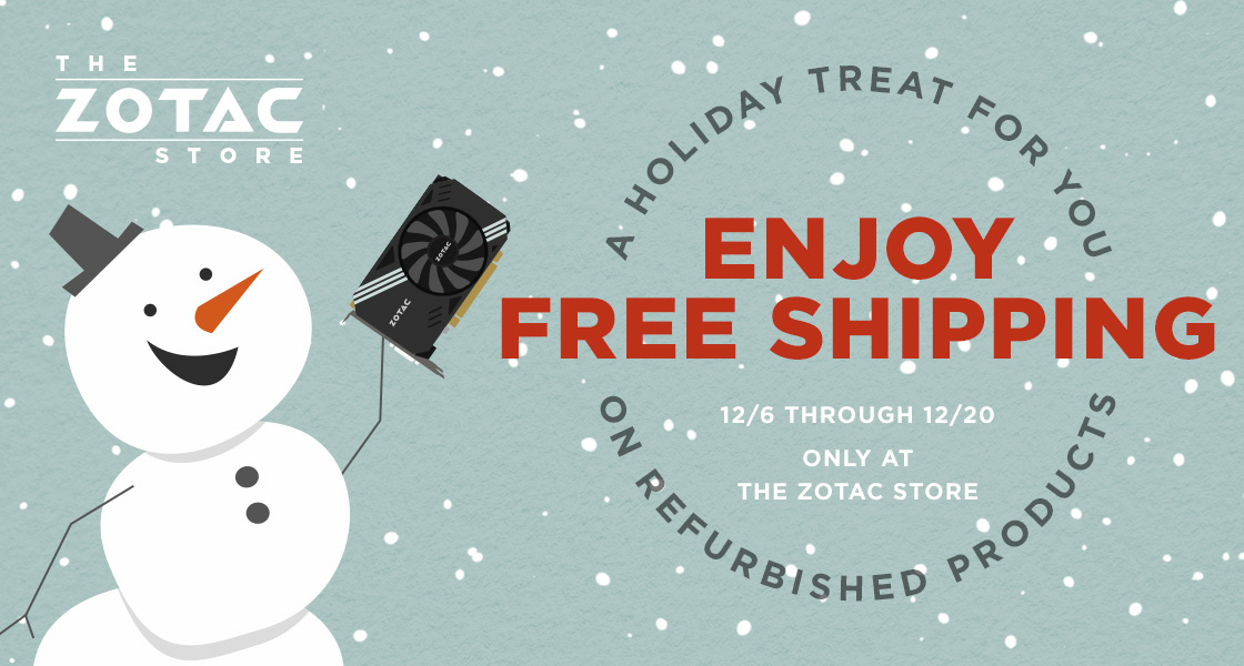 ENJOY FREE SHIPPING ON SELECT REFURBISHED PRODUCTS