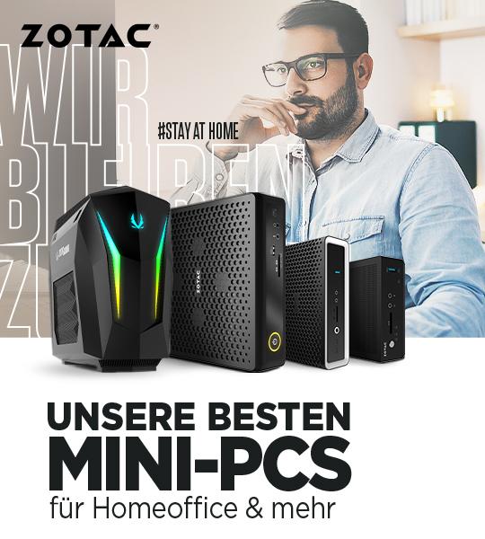 Unsere besten MINI-PCs für Homeoffice & Mehr