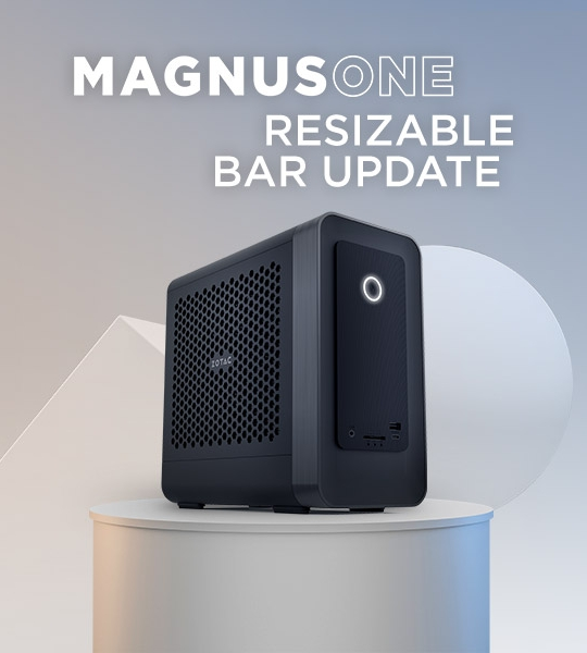 MAGNUS ONE Resizable BAR Feature Update