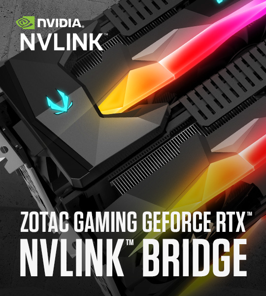 ZOTAC GAMING NVLink Bridgeがついに登場
