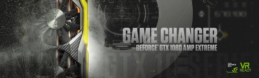 ZOTAC GeForce® GTX 1080 AMP! Extreme