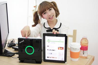 아이패드보다 작은 미니컴퓨터 ZBOX AD02 출시