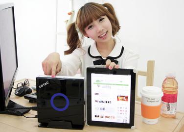아이패드보다 작은 미니컴퓨터 'ZBOX' 보급형 SD-ID12 출시