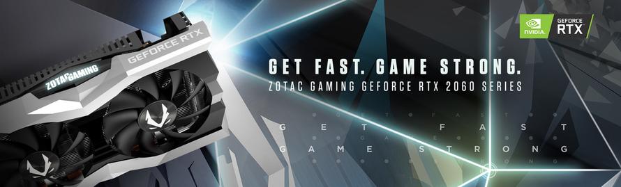 ZOTAC GAMING GeForce RTX™ 2060 Annonce de la nouvelle génération de cartes graphiques compactes