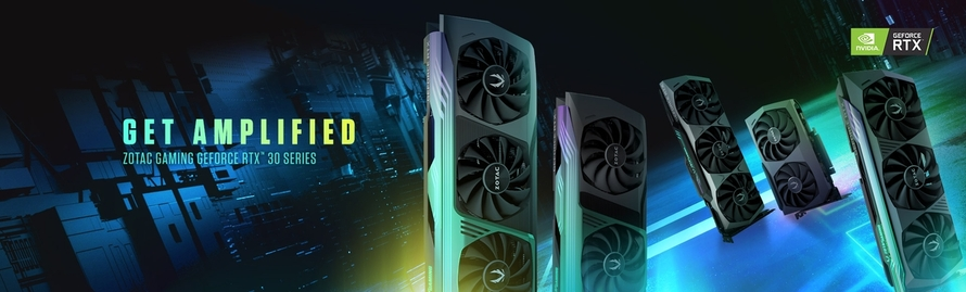 GET AMPLIFIED MIT DER NEUEN ZOTAC GAMING GEFORCE RTX 30 SERIE