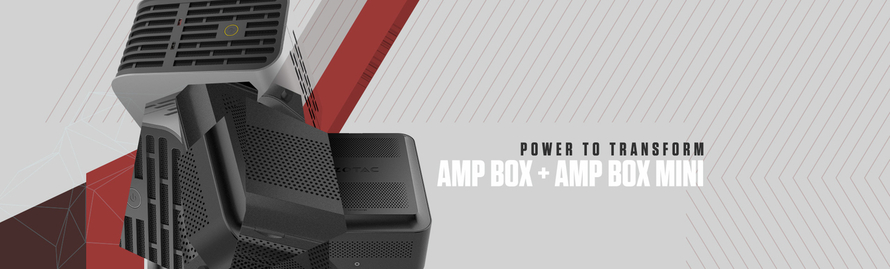 ZOTAC Unveils The All-New Thunderbolt™ 3 Expansion Chassis – AMP BOX and AMP BOX MINI