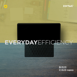 ZOTAC Goes for Threes with the all new ZOTAC ZBOX BI323 and CI323 nano Mini PCs