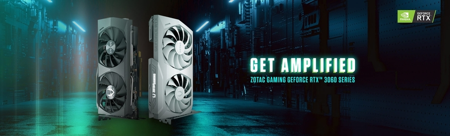 ZOTAC GAMING ANNOUNCES THE GEFORCE RTX 3060 SERIES