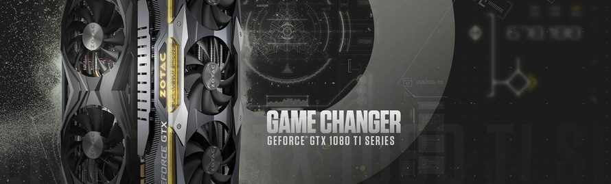 ZOTAC Pushes Pure Performance with GeForce® GTX 1080 Ti