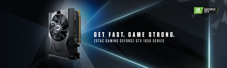 ZOTAC GAMING UNVEILS POWER SIPPING GEFORCE GTX 1650