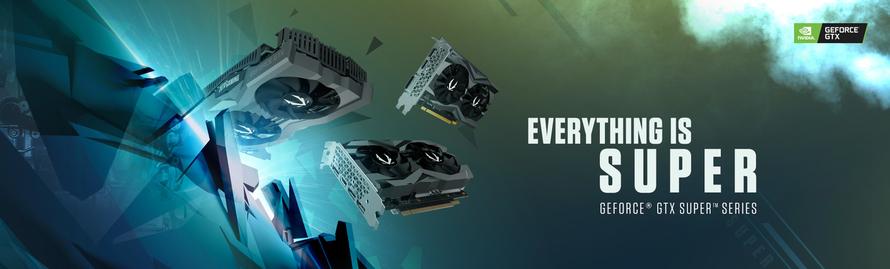 ZOTAC GAMING 推出 GEFORCE GTX SUPER 系列 — 升級圖像效能,加強遊戲體驗