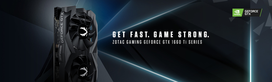 ZOTAC GAMING GeForce GTX 1660 Ti Series Arrives with NVIDIA Turing Architecture