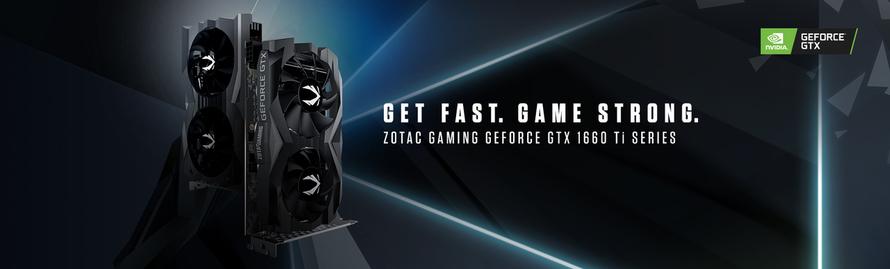 Lancement de la série ZOTAC GAMING GeForce® GTX 1660 Ti basée sur l'architecture NVIDIA Turing™