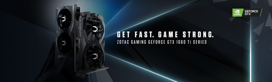 Llega ZOTAC GAMING GeForce® GTX 1660 Ti Series con arquitectura NVIDIA Turing™
