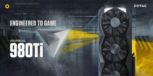 980 Ti, diseñada para el juego