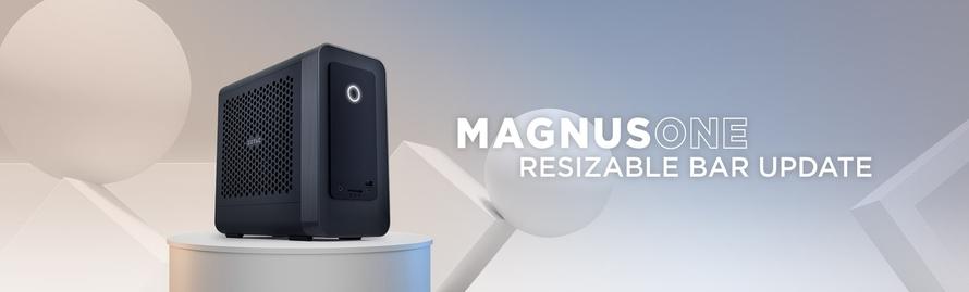 MAGNUS ONE 리사이저블 바 업데이트