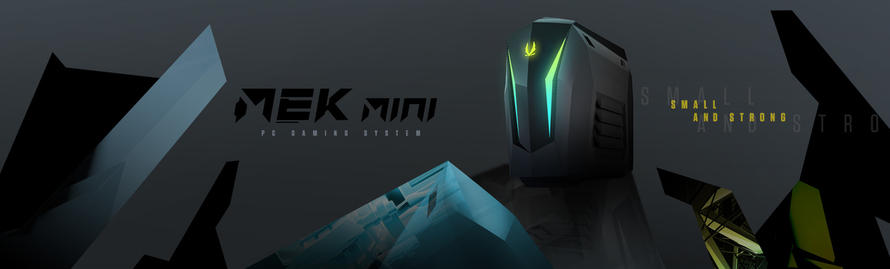 INTRODUCING THE SIZE BREAKING, SMALL AND STRONG  MEK MINI GAMING PC