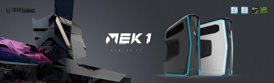 Neue ZOTAC GAMING Marke startet mit neuem Gaming Desktop-PC MEK1