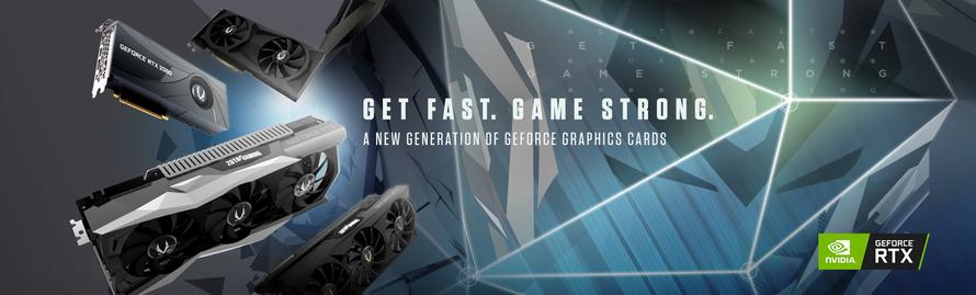 Die Nächste Generation des GAMINGS – mit der neuen ZOTAC GAMING GeForce® RTX 20 Grafikkarten-Serie