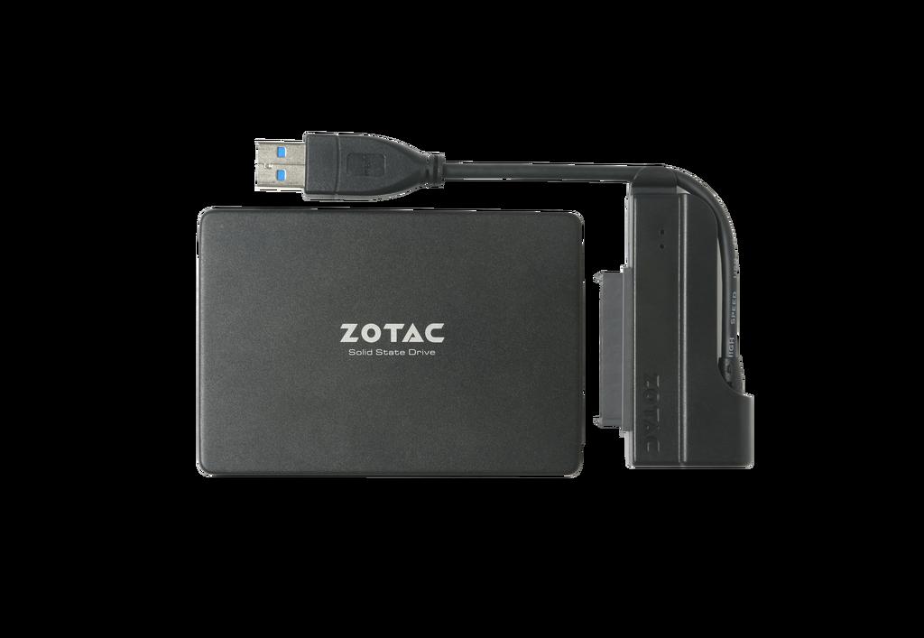 ZOTAC SATA3 2.5 SSD to USB 3.0 어댑터