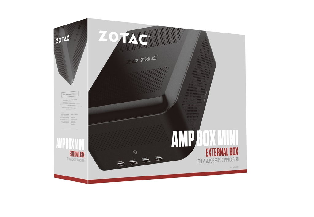 AMP BOX Mini (230W w/ 6+2 pin connector)