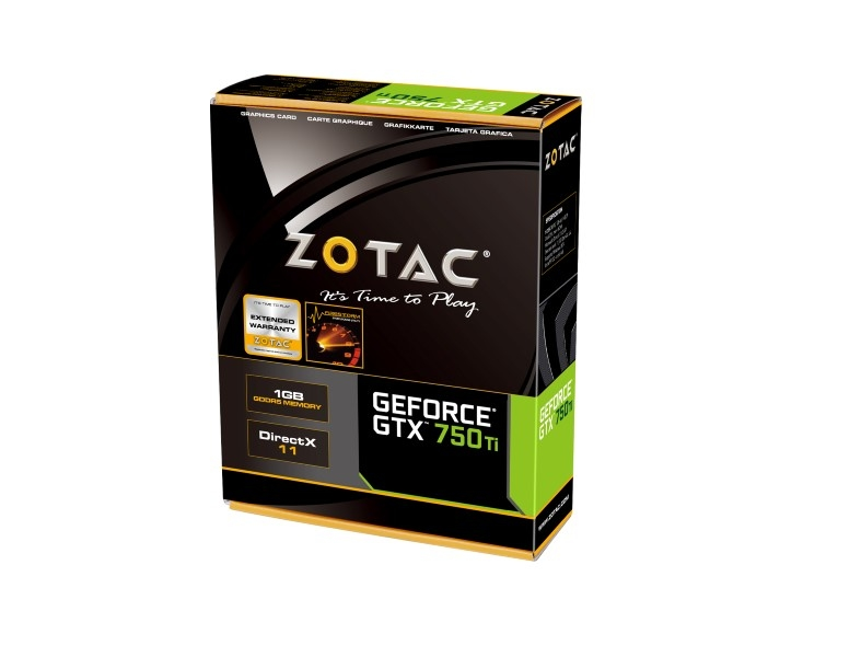 GeForce® GTX 750 Ti 1GB
