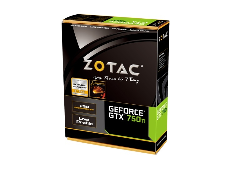 GeForce® GTX 750 Ti LP 2GB