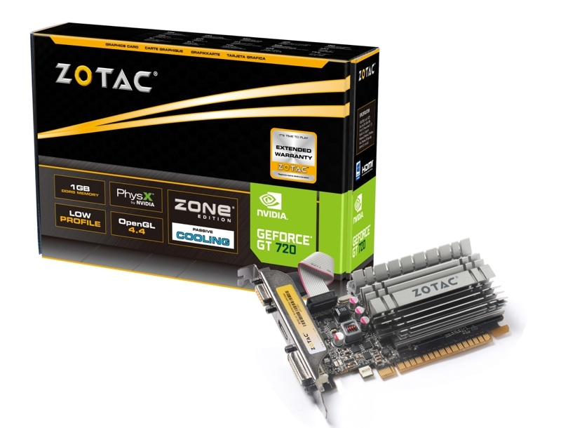 GeForce® GT 720 ZONE 1GB DDR5