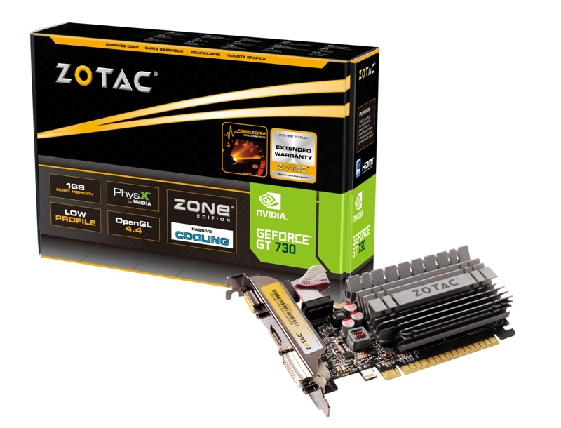 GeForce® GT 730 1GB Zone Edition