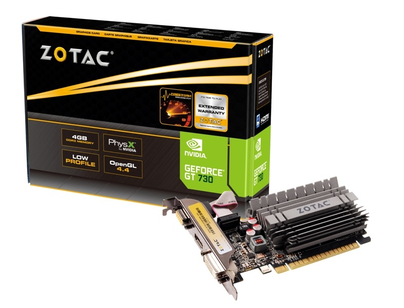 GeForce® GT 730 4GB Zone Edition
