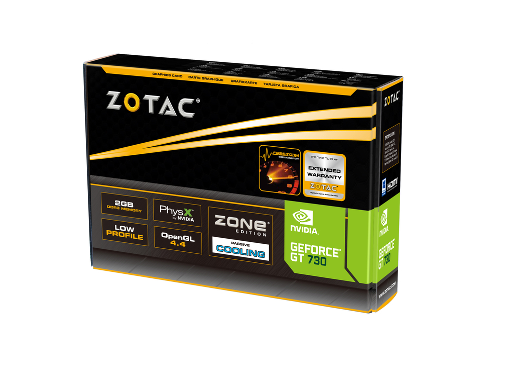 GeForce® GT 730 2GB Zone Edition