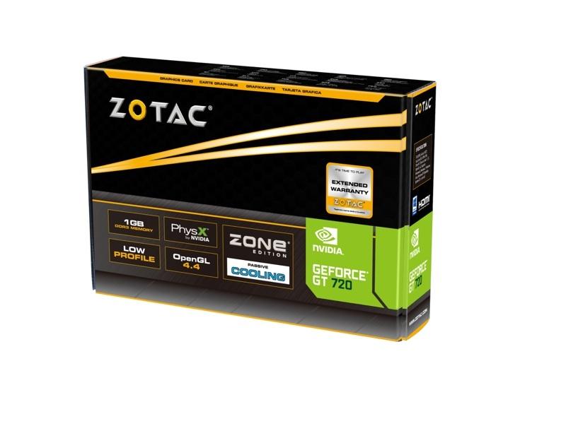 GeForce® GT 720 ZONE 1GB DDR3