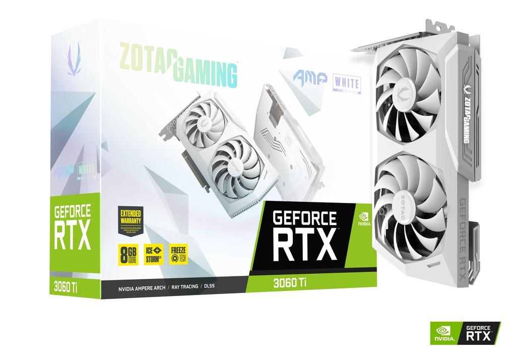 ZOTAC GAMING GeForce RTX 3060 Ti AMP White Edition LHR