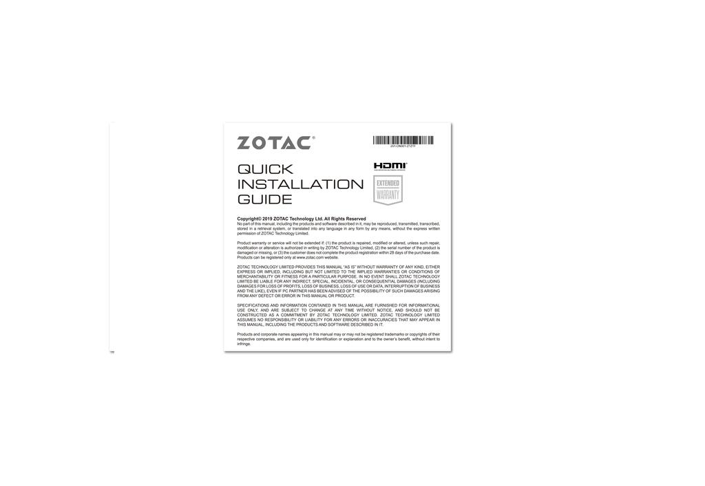 ZOTAC GAMING GeForce RTX 3060 Ti Twin Edge OC