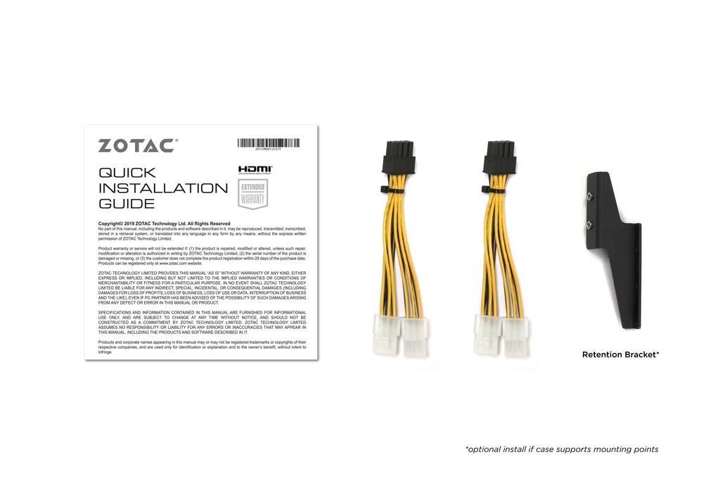 ZOTAC GAMING GeForce RTX 3070 AMP Holo LHR