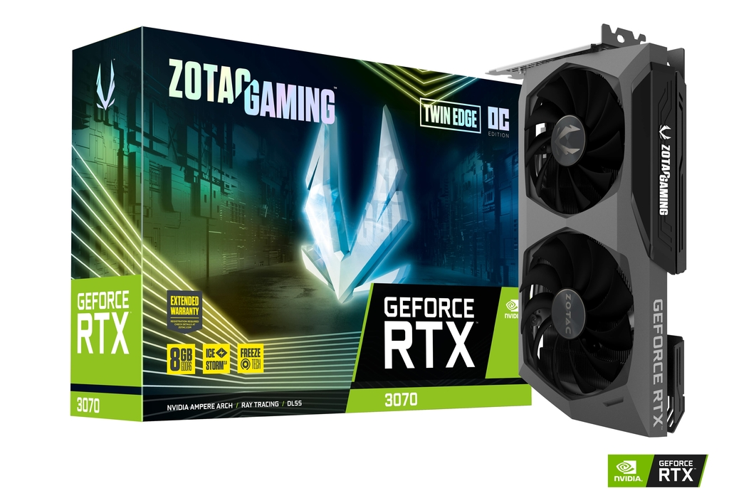 ZOTAC GAMING GeForce RTX 3070 Twin Edge OC