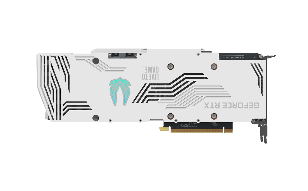 ZOTAC GAMING GeForce RTX 3080 Trinity OC White Edition
