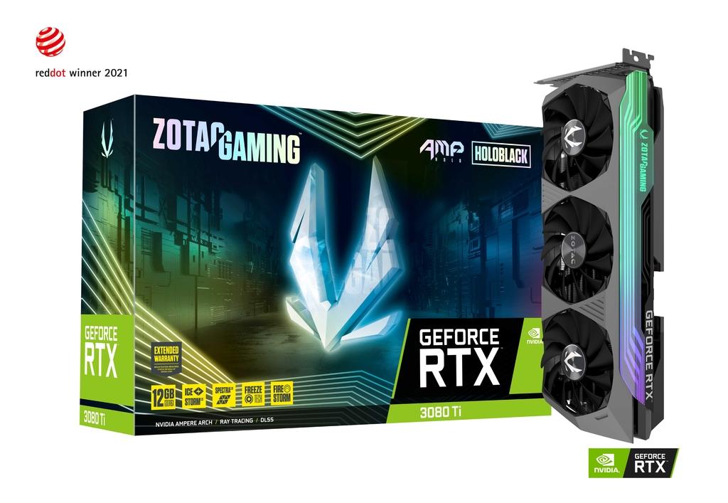 ZOTAC GAMING GeForce RTX 3080 Ti AMP Holo