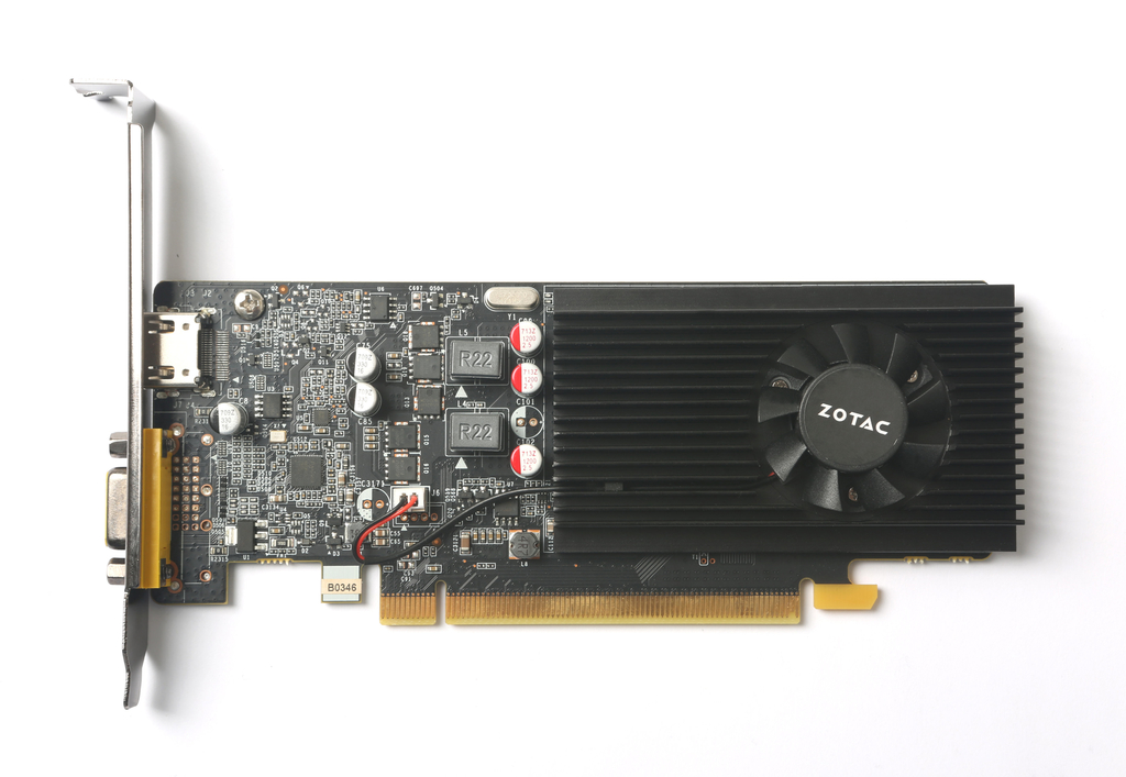 ZOTAC GeForce® GT 1030 2GB GDDR5 HDMI/VGA Low Profile