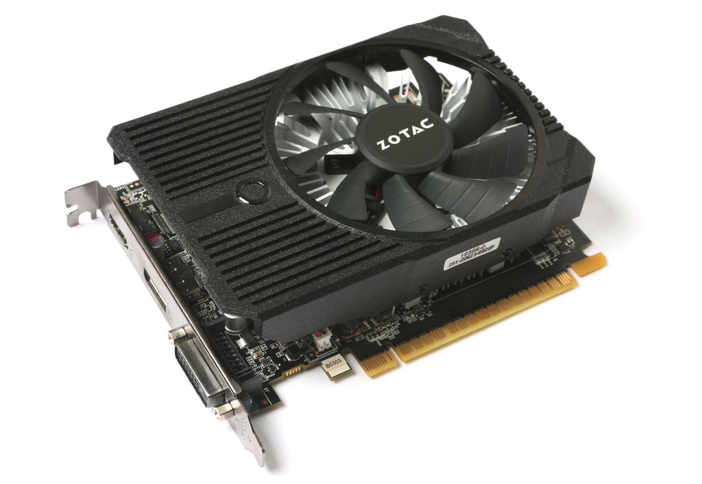 ZOTAC GeForce® GTX 1050 Ti Mini