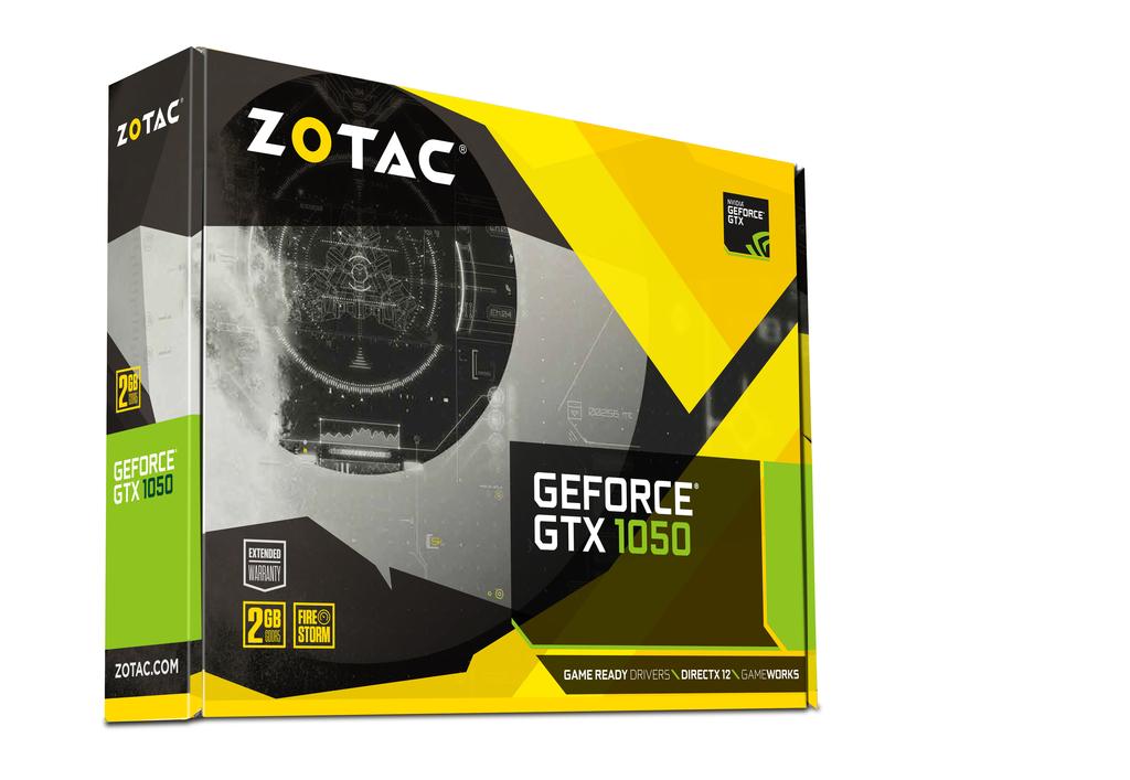ZOTAC GeForce® GTX 1050 Mini
