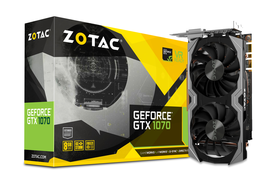 ZOTAC GeForce® GTX 1070 Mini