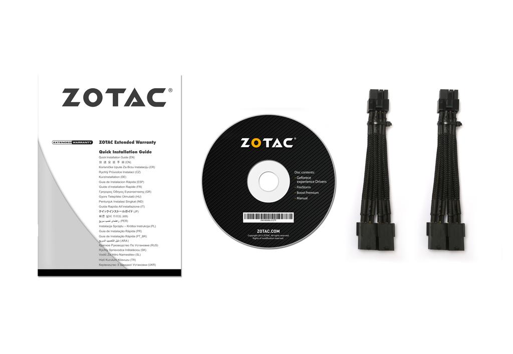 ZOTAC GeForce® GTX 1080 AMP Extreme PLUS GDDR5X