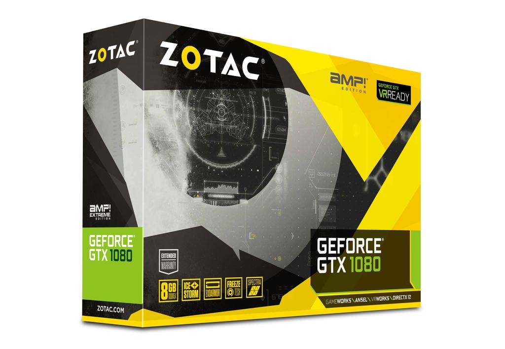 ZOTAC GeForce® GTX 1080 AMP Edition