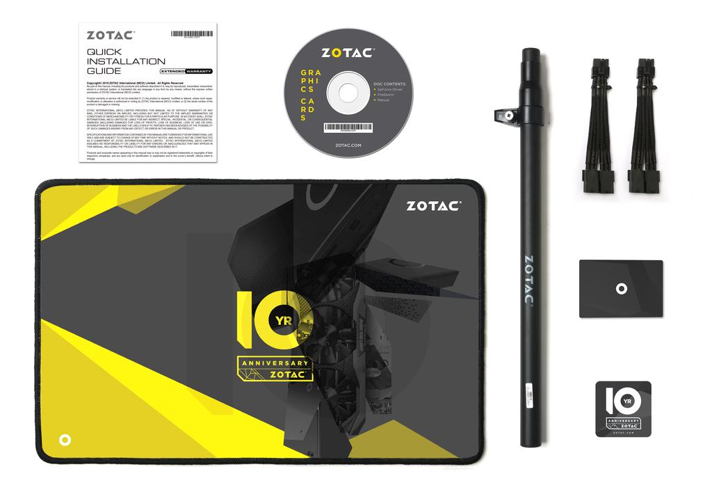 ZOTAC GeForce GTX 1080 ArcticStorm Thermaltake 10 Year Anniversary Edition