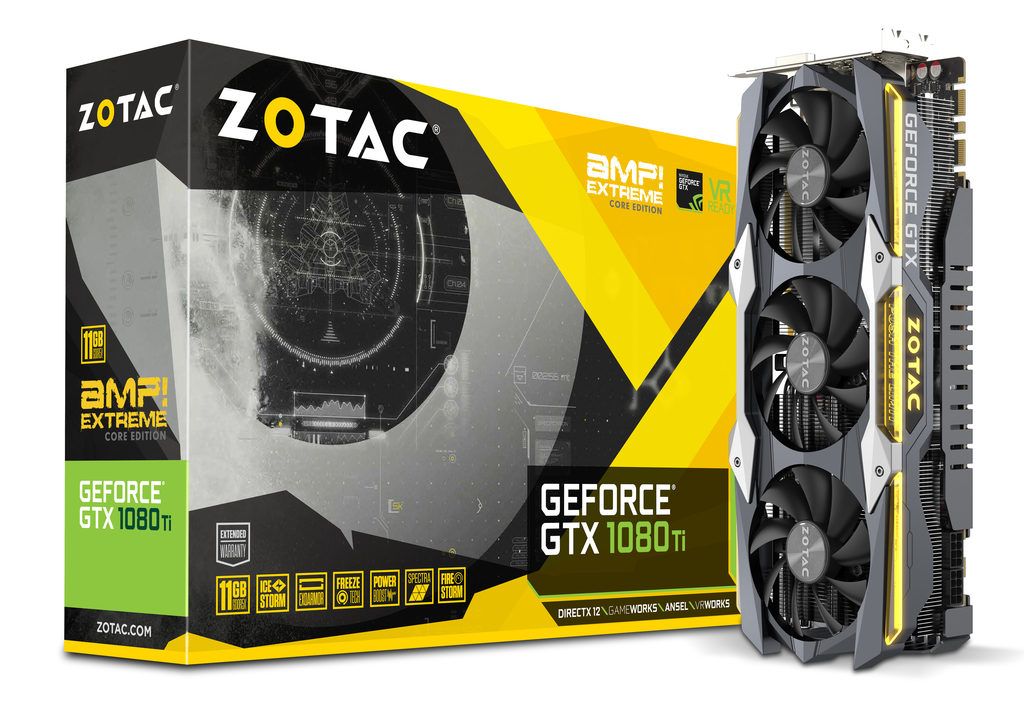 ZOTAC GeForce® GTX 1080 Ti AMP Extreme Core Edition