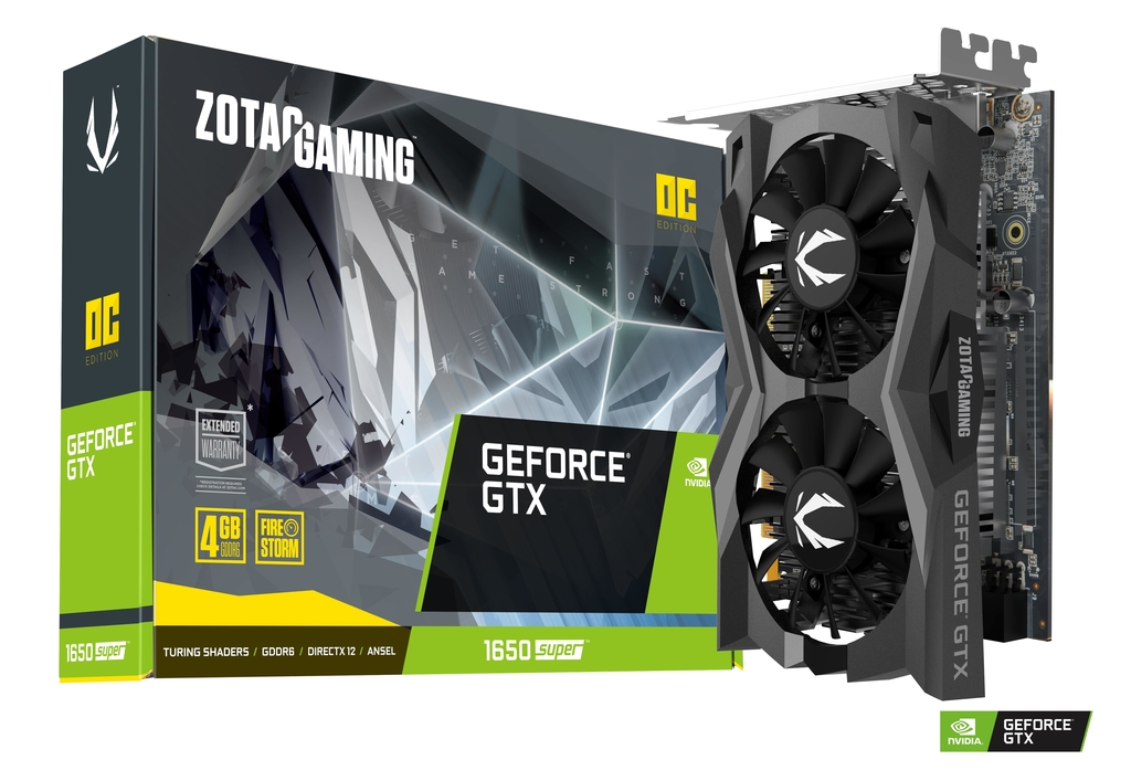 ZOTAC GAMING GeForce GTX 1650 SUPER OC