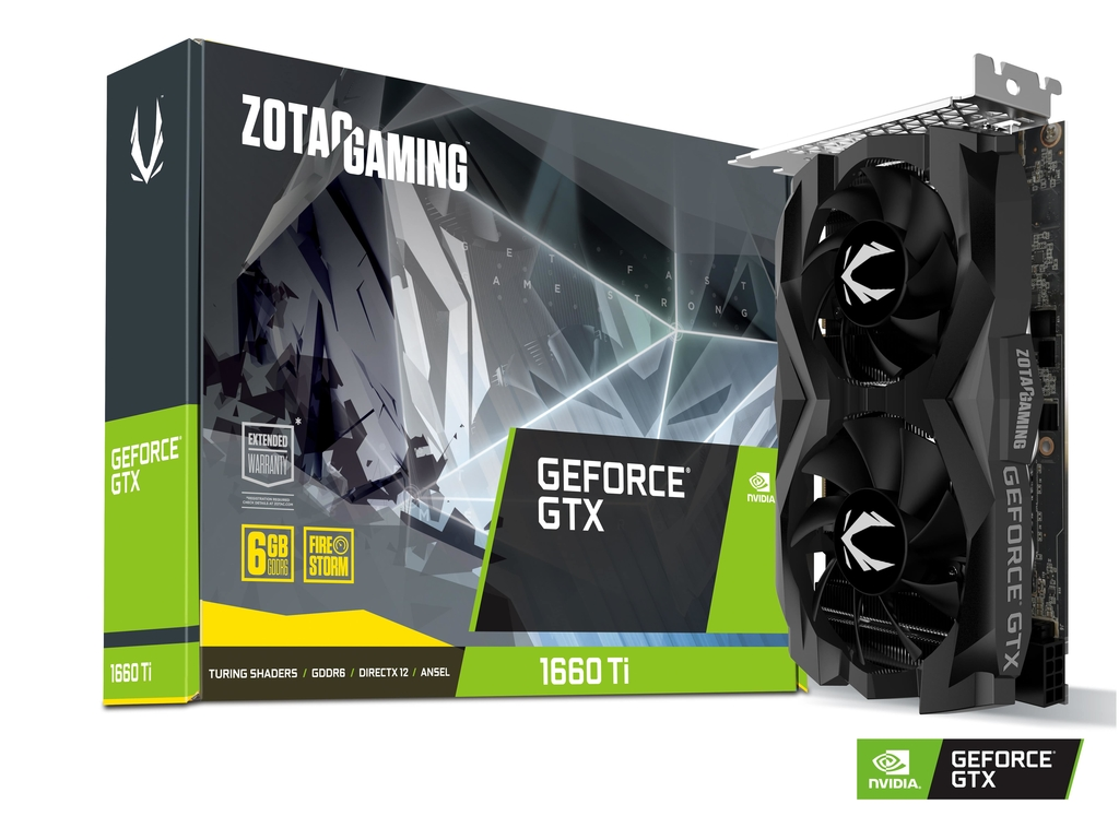 ZOTAC GAMING GeForce GTX 1660 Ti 6GB GDDR6